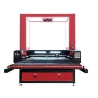 Buy cheap 1280 CCD Small Laser Cutting Machine Auto Feeding Biaxial Asynchronous For Soft Material from wholesalers
