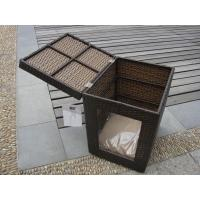 China Outdoor Garden Wicker Pet Bed Comfortable Pet House For Dog / Cat on sale