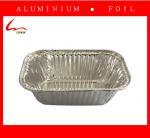 Small Household Oblong Aluminium Foil Cake Tray