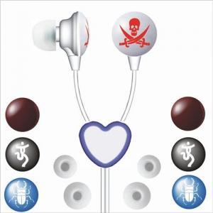 Milímetro da cor Earphoes dos EarDrops