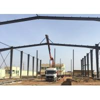 Buy cheap High Quake - Proof Steel Structure Office Customized Fire And Insect Preventing product