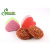 Buy cheap Safe Cleaning Steel Wire Copper Scouring Pads Mesh Design No Falling Broken Bits product