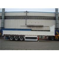 Buy cheap 40-100 Ton Steel Side Wall Semi Trailer Heavy Duty I Beam With LED Light product
