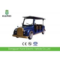 FRP Body Electric Vintage Cars Utility Vehicle With 72V Large Capacity Battery