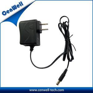 China ul fcc approval us plug 9v 500ma adapter 5w on sale