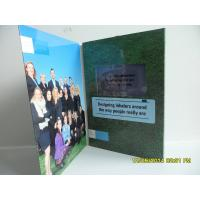 Buy cheap Best Matt / Glossy Lamination LCD Birthday Card ,  LCD Video Brochure With Pocket product