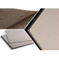 Quality Eco - Friendly Grade B Thick Strawboard Paper Two Sided Grey Uncoated For Printing for sale