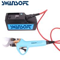 Buy cheap Swansoft 800g 30mm Electric Bypass Pruner Fruit Orchard Pruning Shear 36V 4AH product