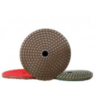 Buy cheap Resin Metal Chip Diamond Polishing Discs Lightweight Aggressive Little Pressure Needed product