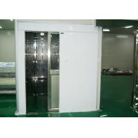 Buy cheap Hidden Automatic Air Shower Tunnel , Air Shower System For Class 100 Clean Room product