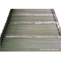 Buy cheap Baffle Mesh Stainless Steel Conveyor Chain Belt High Allowable Belt Tension product