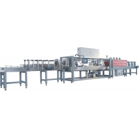 Buy cheap 20000bph PLC Touch Screen PET Bottle Packing Machine product