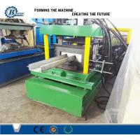 Galvanized Steel C Shape Channel Purlin Roll Forming Machine Automatic Changable Size