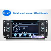 China Stereo for Jeep Wrangler Grand Cherokee Compass Commander Liberty GPS Navigation Car Stereo DVD Player on sale