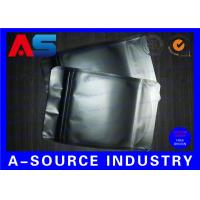 Buy cheap 8 * 12 CM Aluminum Foil Bags Matt Black Color For Oral Tablets Packaging product