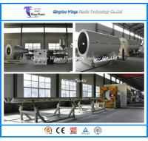 China HDPE Anti - Corrosion Insulation Polyurethane Pipe Production Line on sale