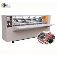 Buy cheap Corrugated Cardboard Slitting And Creasing Machine High Precision In Cutting product