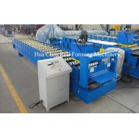 China High Precision Roofing Sheet Cold Steel Roll Forming Machine For Galvanized Steel on sale