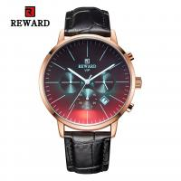 Buy cheap Chinese wholeasale 45mm big dial black leather strap mens metal watches product