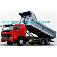 Buy cheap 336HP HOWO Heavy Duty Dump Truck, red, white and blue colors, ZZ3257M3247N, 6x4 product