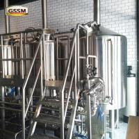 Buy cheap Commercial 220V / 380V Pub Brewery Systems With Three Vessels , 20 BBL Brewhouse from wholesalers