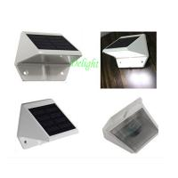 China solar wall light for fence, solar gate fencing light outdoor garden wall light on sale