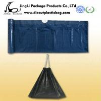 Buy cheap Eco friendly drawstring plastic garbage  bags , black PED retail Polybag product