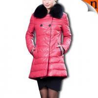 China Women Down Leather Coats on sale