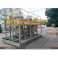 Buy cheap Automatic back-flusing filter inrigation water filtration with 0.1 um high precision from wholesalers