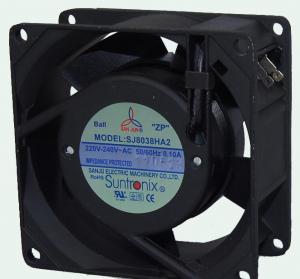 China 80кс80кс38мм АК 110В или 220В рамки 25 кфм вентилятор сброса алюминиевого промышленный охлаждая, вентиляторы АК осевые wholesale