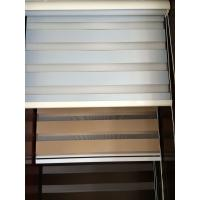Buy cheap blackout zebra blinds dual sheer shades with manual control product
