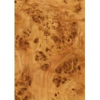 Buy cheap Wood Grain Decorative Foil Paper Double PU Coating , High Glossy Wood Grain Sticker Paper product