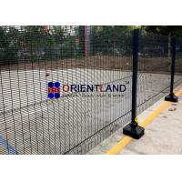 Buy cheap 358 Welded Wire Mesh Security Fencing 900-2500mm Height 3×0.5 Hole Size product