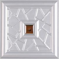 Buy cheap Moisture - Proof 3D Leather Wall Panels For Home / Restaurants product