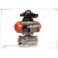 Buy cheap Single Acting Ball Valve Pneumatic Actuator With Limit Switch from wholesalers
