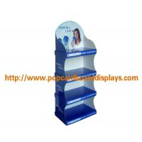 China Secret Deodorant Cardboard Floor Displays , Point Of Sale Paper Floor Display Stand on sale