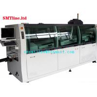 Buy cheap CNSMT Lead Free Dual SMT Wave Soldering Machine Streamlined Design 1300KG Weight product