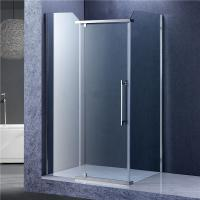 Buy cheap Bathroom Rectangular Shower Enclosure , 3 Panels Glass Shower Cubicles product