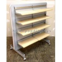 China Store Retail Gondola Shelving Clothing Retail Merchandise Displays Double Sided wholesale