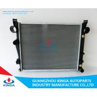 China Tube Fin Core All Aluminum Replacement Radiators Benz 1997-1999 W220 Thicnkess 32mm on sale