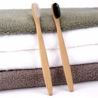 Buy cheap Luxury Hotel Room Amenities Arc Design Smooth Surface Bamboo Toothbrushes product