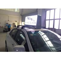 Full Color Weatherproof Taxi Led Display for Outdoor Digital Taxicab Roof Advertising with Two Sides