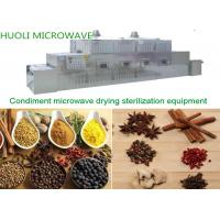 Buy cheap Industrial Tunnel Type Microwave Spices Dryer and Dehydrator Machine/Spices Sterilizing Machine product