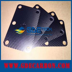 Поставщик частей волокна углерода cnc Китая изготовленный на заказ