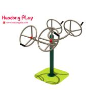 Buy cheap Industrial Health Stamina Leg Fitness Exercise Equipment For Kids  Four Seat Presser And Pusher product