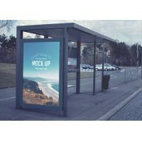 Buy cheap Public Bus Shelter Digital Signage Kiosk With Ultra HD Touch Screen product