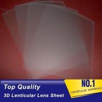 Buy cheap 161 Lpi 51X71CM Lenticular Lens Film 0.25mm PET 3D Sheet Lenticular Lenses material for 3d lenticular printing service product