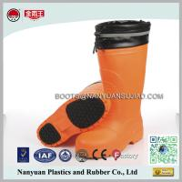 Buy cheap 306 Knee High Composited Toe Cap Felt Lining Winter EVA Safety Boots product