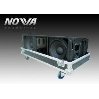 Buy cheap Big Three Way Active Line Array System For Outdoors Events , High Efficiency product