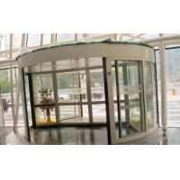 Buy cheap 2 Wing Stainless steel  frame Automatic Revolving Door for Hotel / Bank / Airport product